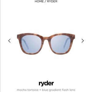 Diff Ryder tortoise sunglasses NIB!